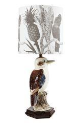 Kookaburra lamp. I love vintage (and reproduction) Australiana.