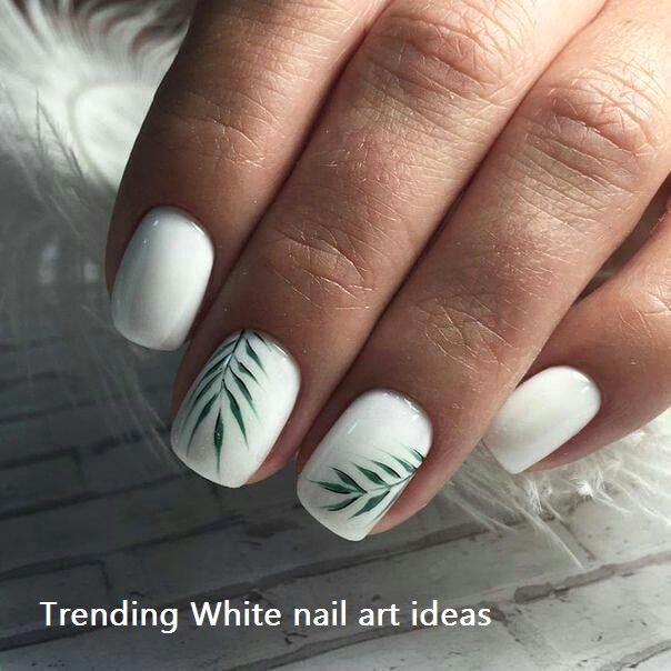Encontre este Pin e muitos outros na pasta Nail Designs de Nail Designs.   – Best White Nails