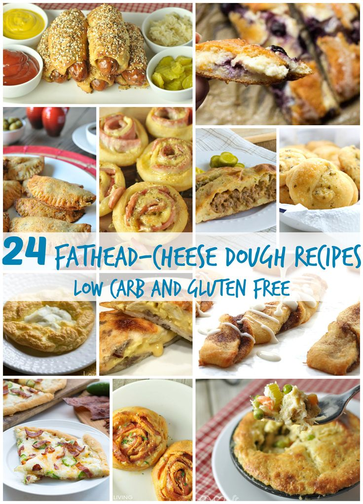 24 Fathead Cheese Dough Recipes - Low Carb and Gluten Free    Healthy Living in Body and Mind