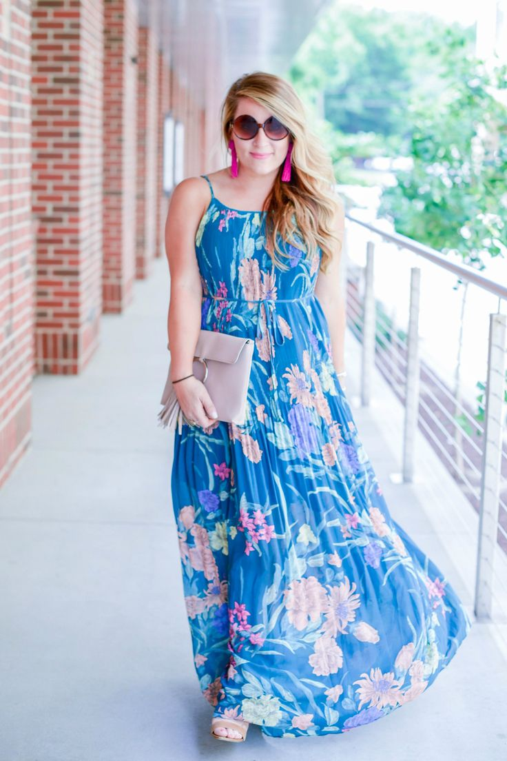 Short Girl's Guide On How To Wear A Maxi Dress by NC fashion blogger Amy of Coffee Beans and Bobby Pins