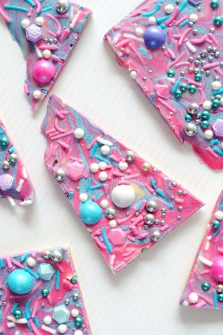 Stop What You're Doing and Admire This Perfect Unicorn Bark — and Then DIY It! | Beautiful Cases For Gir