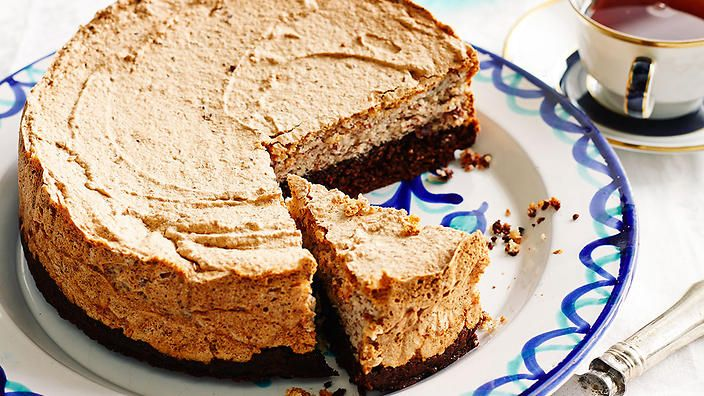This flourless almond and chocolate-walnut torte makes for an ...
