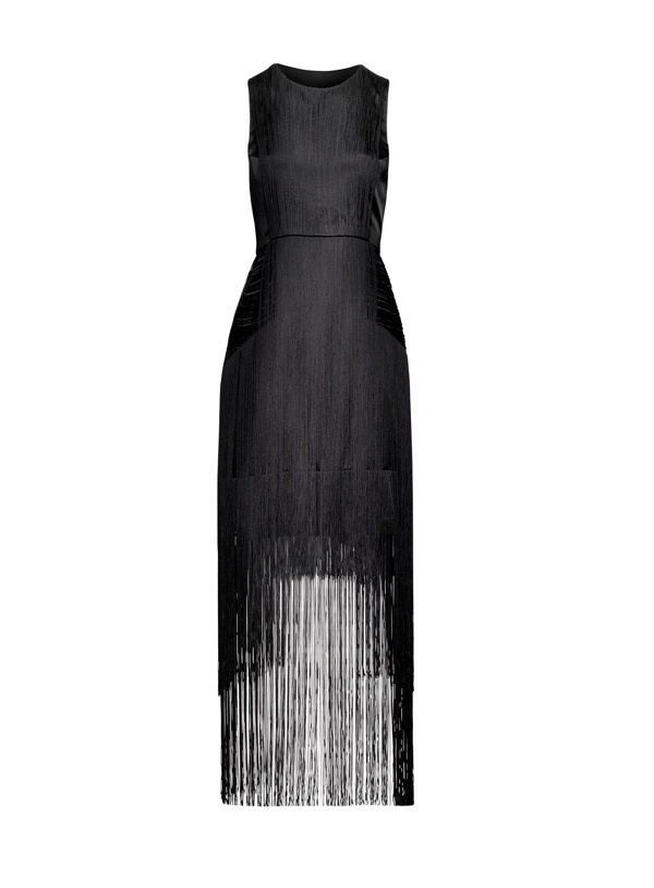 Fringed dress perfect for Gatsby! HM Conscious Collection Exclusive. You'd look AWESOME in this with long pearls and a retro hairstyle.