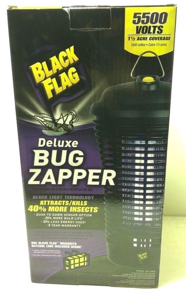 Black Flag BZ-40-DX 40-Watt Deluxe Outdoor Bug Zapper