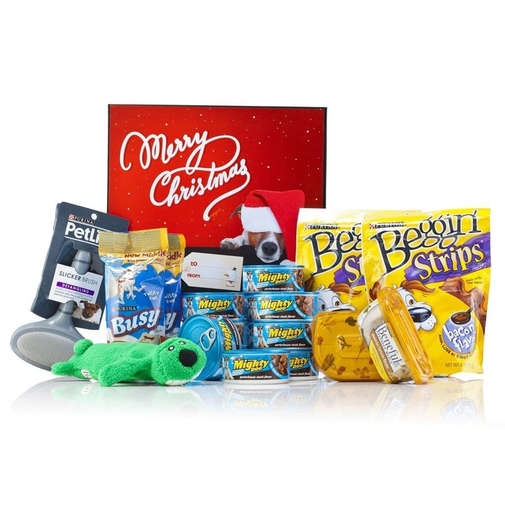Purina Dog Christmas Gift Box - For those who like to give their pets pressies!  $49.99