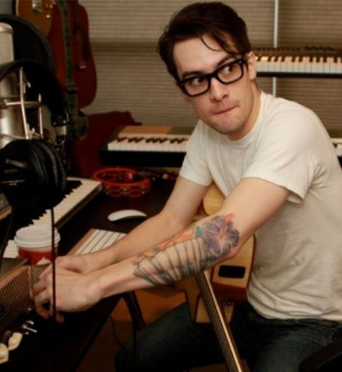 Brendon Urie piano tattoo