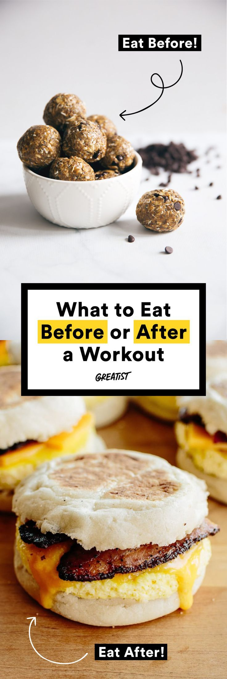 120 best pre and post workout food images on pinterest post 49 snacks to eat before or after your workout forumfinder Image collections