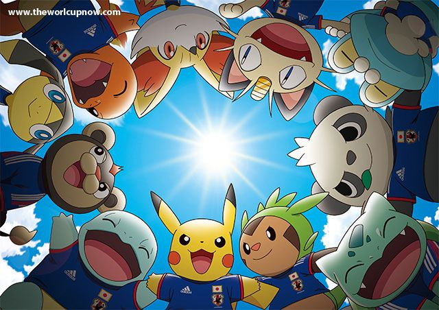 Pikachu is Going to the 2014 World Cup in Brazil