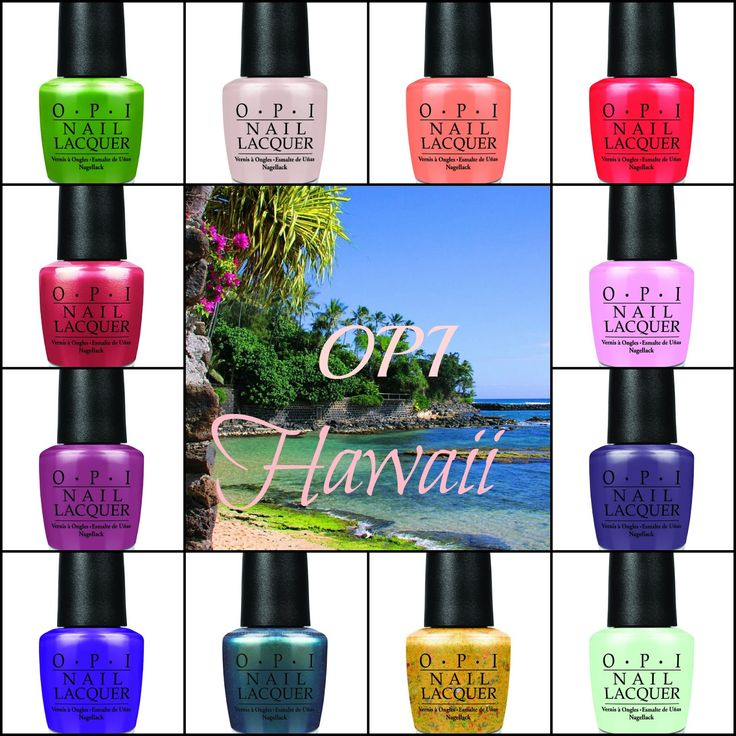 Best Spring Nail Colors 2015: 11 Best OPI Hawaii Collection Spring/Summer 2015 Images On