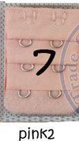 Ladies 2 Hooks Bra Strap Extender hook clip perfect Nude ADJUSTABLE BELT buckle multi color available wholesale