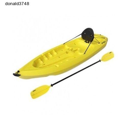 Paddle Lifetime Daylite Kayak Sport Canoe Sports New Yellow Hobie Wilderness 8ft #LIFETIME