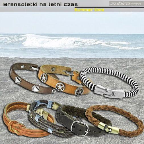 Czy wybrałeś już bransoletkę na lato?  Zobacz nasze propozycje: http://zubiro.com/bransoletki_skorzane,5,0.html