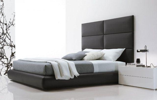 Дизайн минималистичной спальни в черно-белых тонах