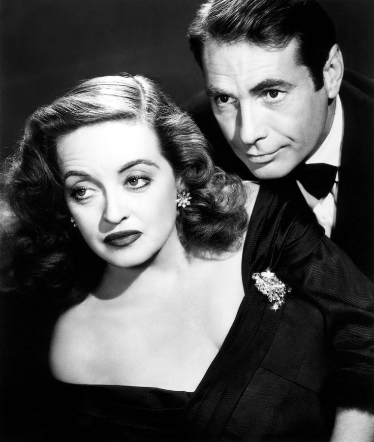"Bette Davis, Gary Merrill  in ""All About Eve"" (1950). Director: Joseph L. Mankiewicz."