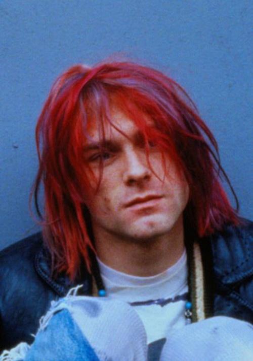 Kurt Cobain X Red Kool Aid Hair Style Decade 90s