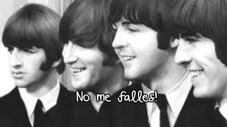 The Beatles - Don't let me down (Traducida al Español) no me falles