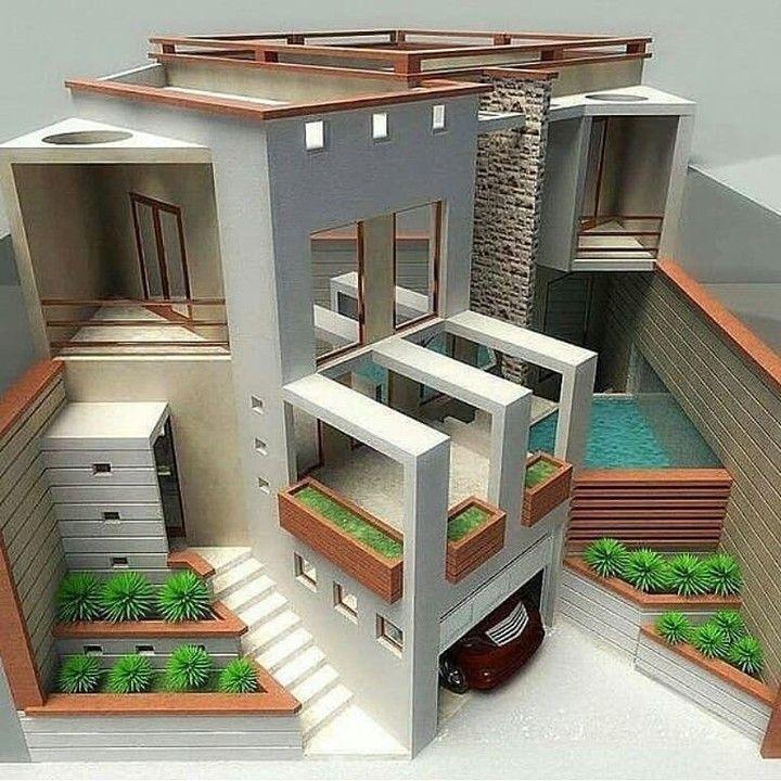 Desain Eksterior Rumah: Desain Miniatur Rumah