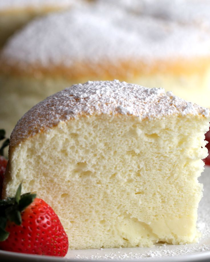 This Jiggly Fluffy Japanese Cheesecake Is What Dreams Are Made Of--keto if subbed with coconut flour and swerve!