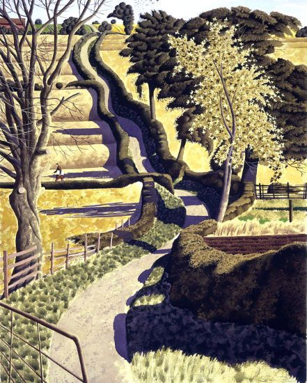 Simon Palmer, Drawing across the Ochre