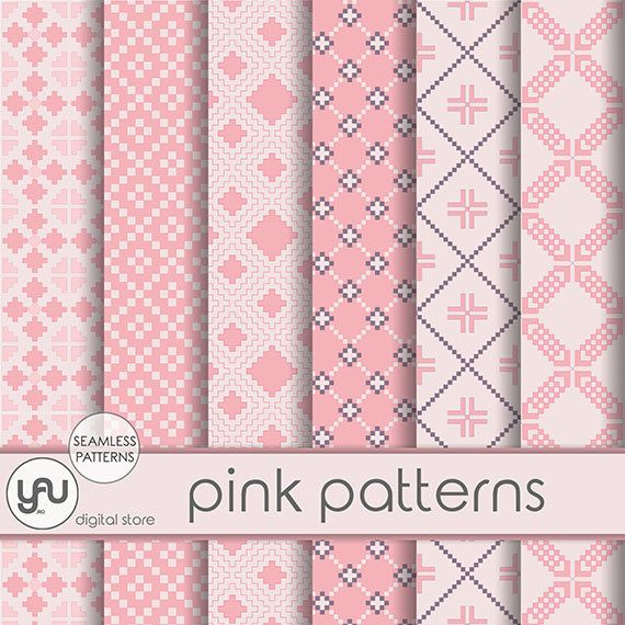 "Geometric digital paper: ""PINK PATTERNS"" with geometric seamless patterns in pink, geometric paper, pink digital paper for scrapbooking #Craft  #Scrapbooking  #Paper #geometric #digital  #pattern  #pink #party #background  #wallpaper #invitations #cards #ScrapbookingPaper #geometricdigital #geometricpaper #geometricdigital #papergeometric #seamlesspattern #scrapbookpaper #pinkparty #pinkdigitalpaper #pinkdigital #pinkbackground"