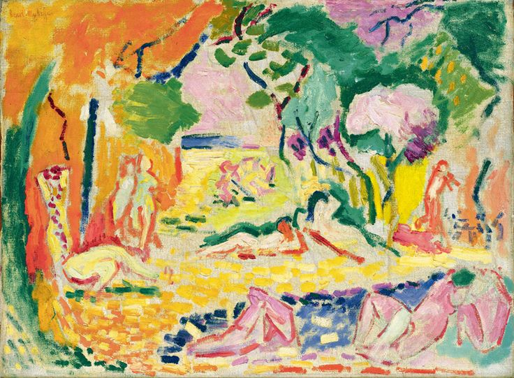 Image result for la joie de vivre 1905 1906 matisse
