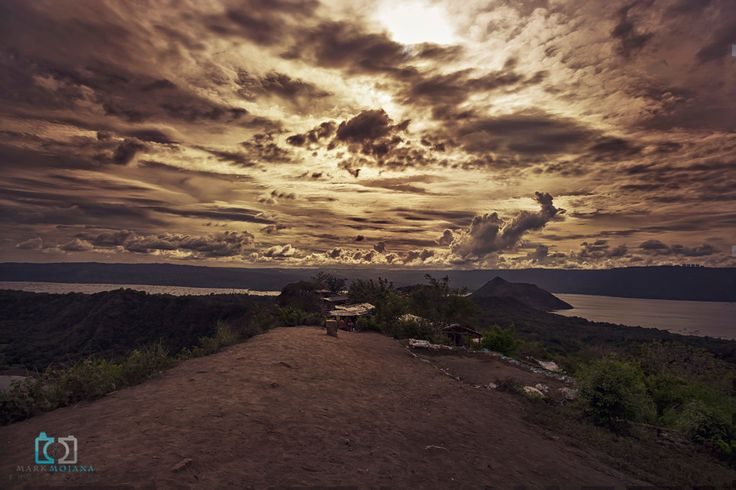 Enjoyment of the landscape is a thrill. Taal Volcano, Tagaytag.