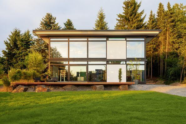 7 best huf haus modum mit flachdach images on pinterest for Modular haus deutschland
