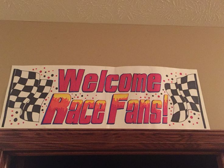 We welcome all race fans!