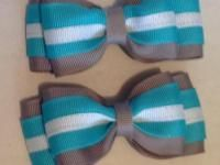 "Erikrafts: Par de moños ""Double tie X"" azul @ Kichink.com"