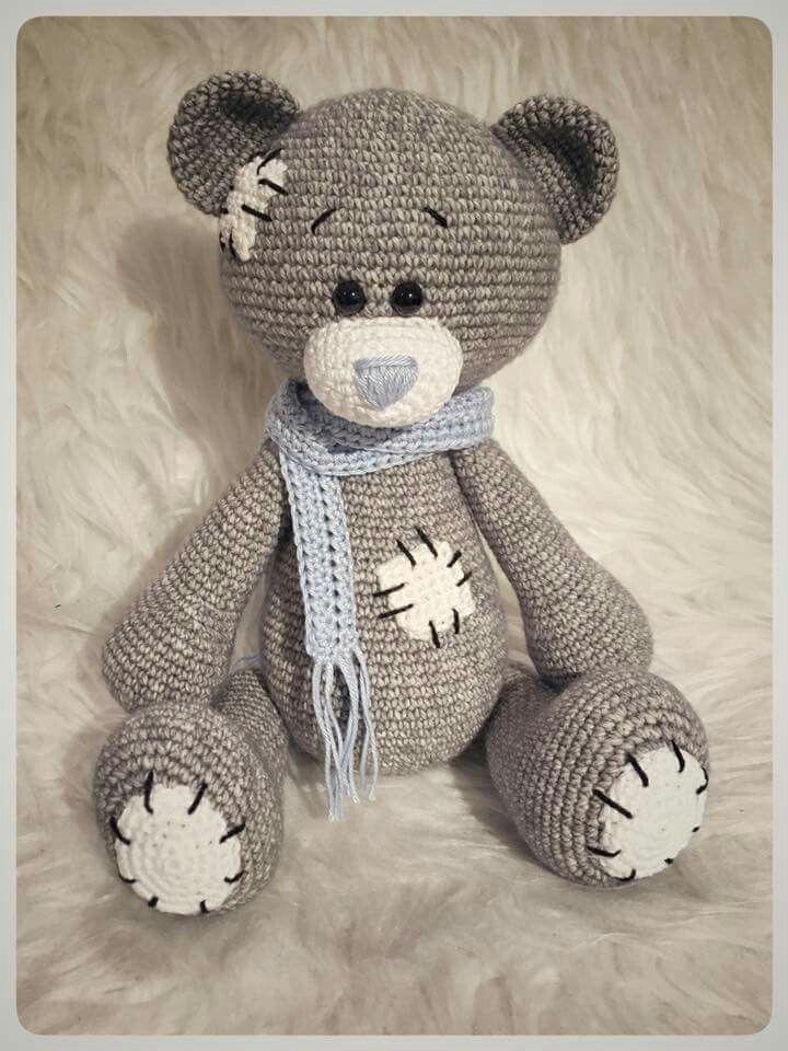 Teddy Bear Cowl Crochet Pattern Free : 25+ best ideas about Crochet bear on Pinterest Crochet ...