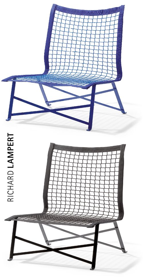 Game, set and match. – ›TIE BREAK‹ chair by Bertjan Pot
