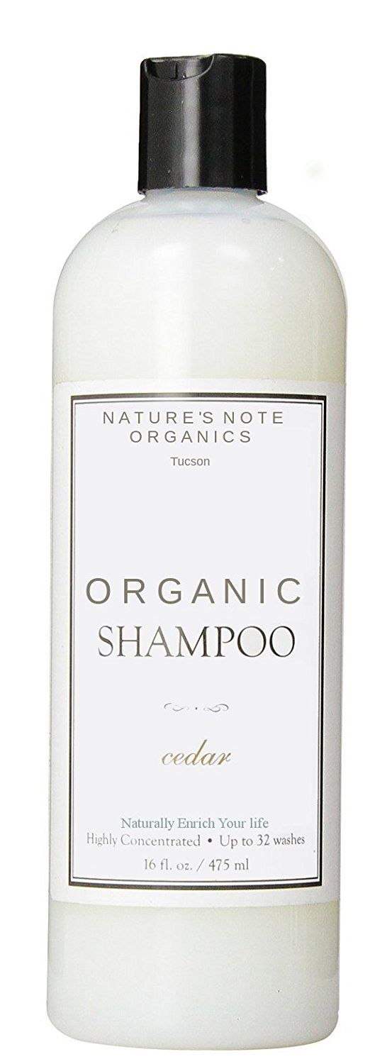 All Natural Nature's Note Organic Shampoo Select Your Scent (Bay Rum, 16 oz.) *** Click on the image for additional details.