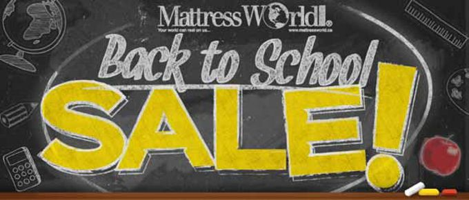 Need a new bed for the school year .... great prices on the best brands at Mattress World!