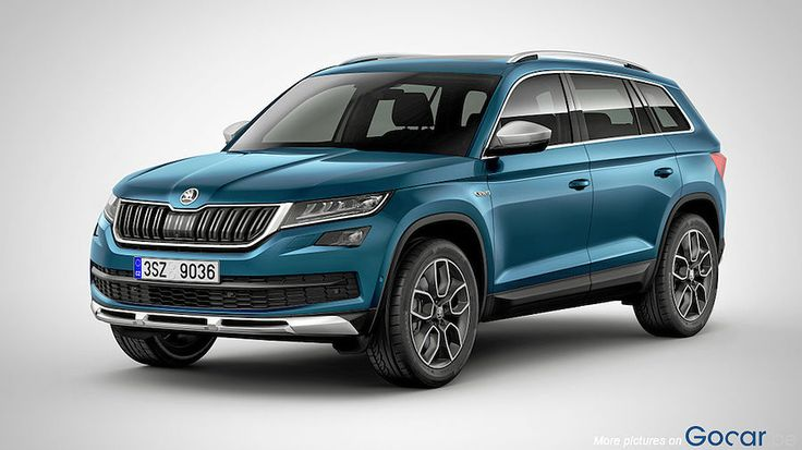 2017 skoda kodiaq scout autos voiture familiale suv. Black Bedroom Furniture Sets. Home Design Ideas