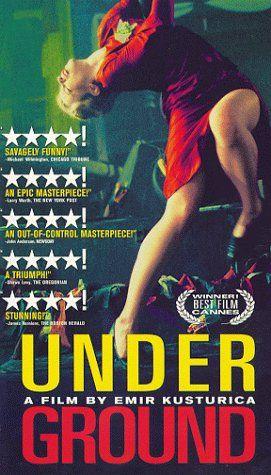 Underground, erg grappige film van Emir Kusturica met fantastische Balkan-muziek.