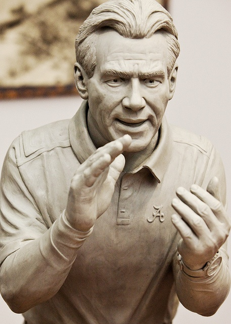 Casting of Sabin for Statue