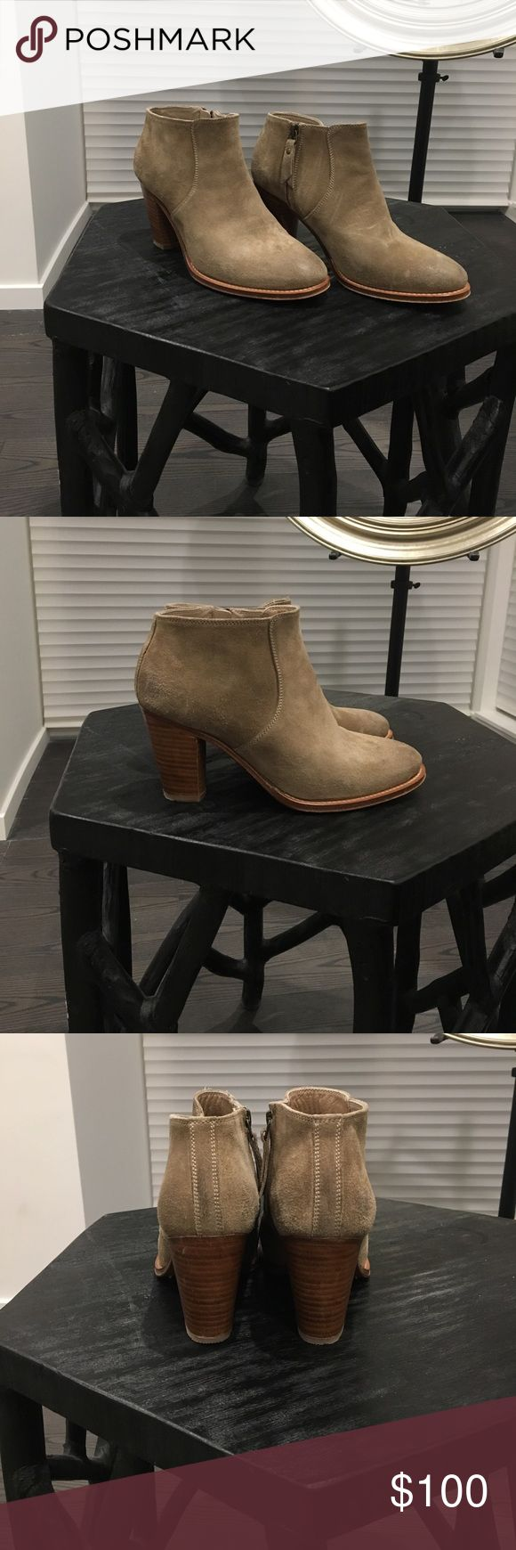 NDC Suede Booties. Comes With Original Box