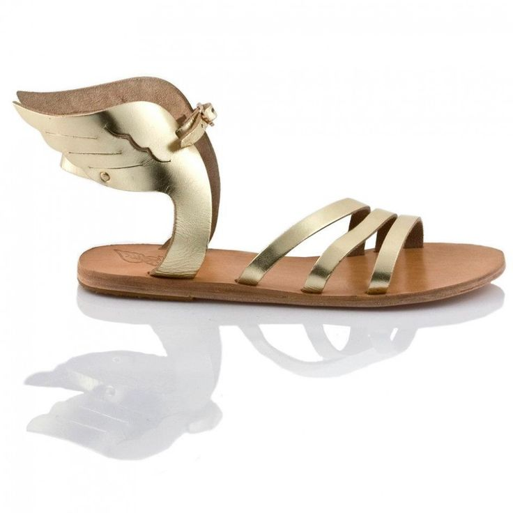 """Handmade by traditional Crete technique - """"Icaria"""" Wing sandals by  ANCIENT GREEK SANDALS"""