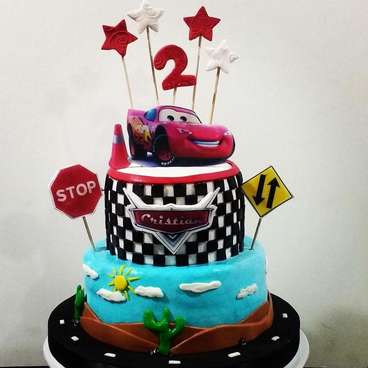 Torta de cars, bolo, cake Cars Disney
