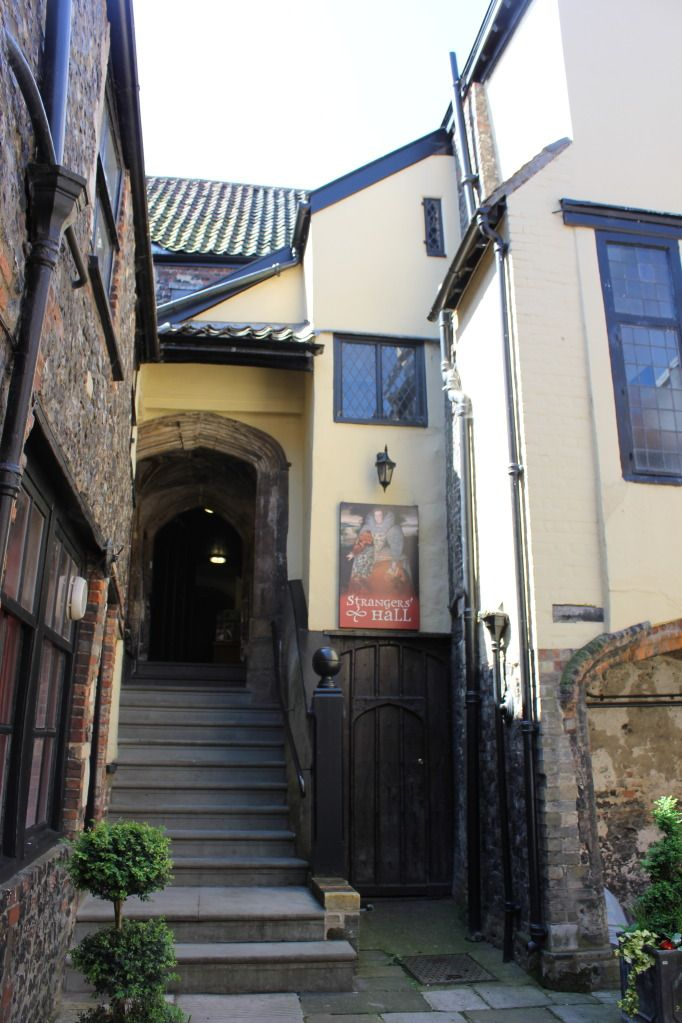 Strangers Hall, Norwich, England. A 14th century house notable as the residence of numerous Mayors of Norwich, having first served this purpose in 1340. Now a museum of domestic history