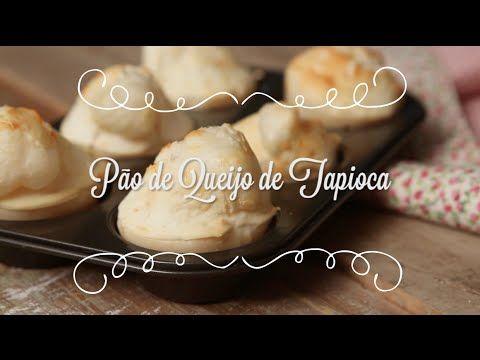 Pão de Queijo de Tapioca feito com 3 ingredientes (Gluten Free!)   Cozinha para 2 - YouTube
