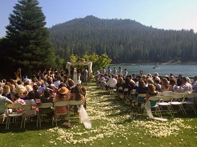 Pines Resort On B Lake Central California Weddings Sierra National Forest Wedding Venues 93602