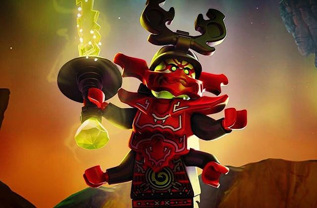 In exactly one month, Day of the Departed airs. - - #Ninjago  #Ninjago2016  #LegoNinjago #Fall2016 #DayOfTheDeparted #Lego #Overlord #BringBackTheOverlord