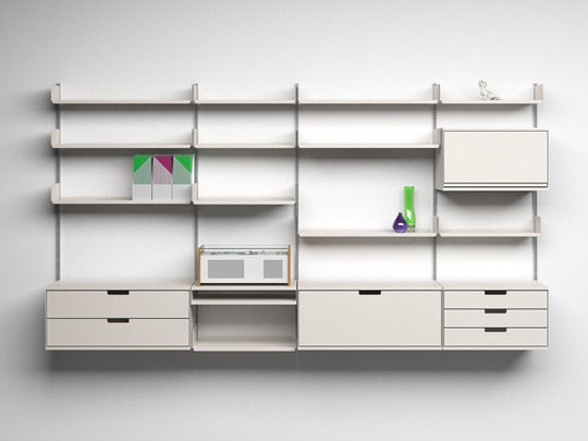 Vitsoe_apartment_therapy_design_classic_606_universal_shelving_system: Dieter Rams, Dieterram, Shelves System, Design Interiors, 606 Univ, Furniture, Minimal Design, Products, Univ Shelves