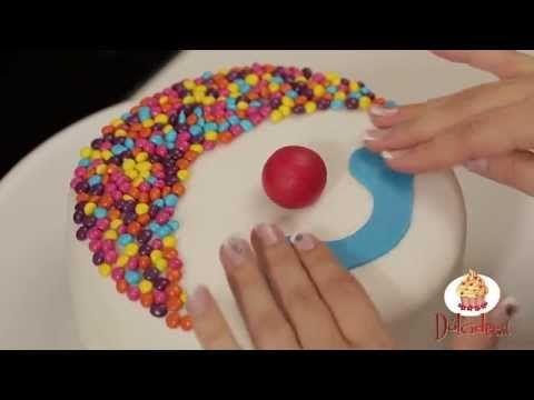 videoricetta per creare la torta pagliaccio