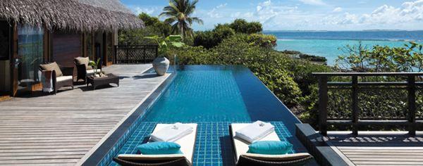 Deluxe pool villa, Shangri la, Maldives
