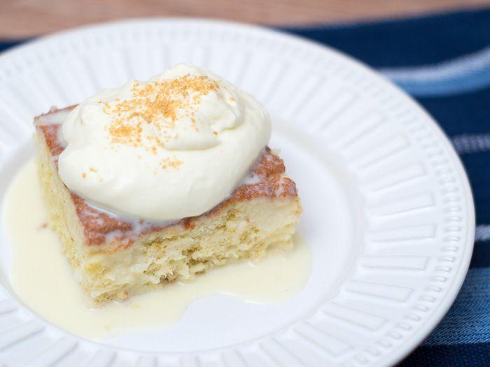 Receita de Tres Leches Cake