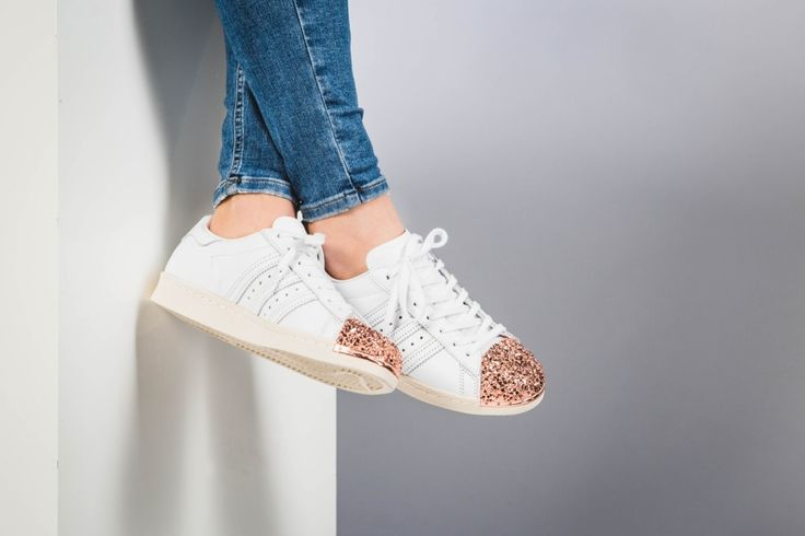 adidas - Superstar 80S Metal Toe W (white / copper) - BB2034