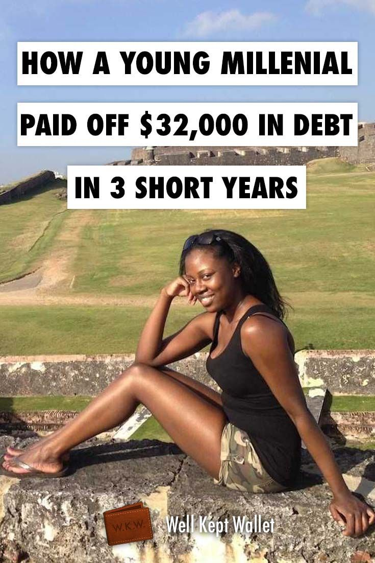 How a Young Millennial Paid of $32,000 in Debt in Three Short Years