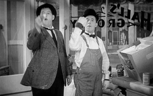 It's Friday so that means Laurel & Hardy time!!! Movie Poster / Movie Images Comedy Greats!!! / Comedy Genuis Stan Laurel and Oliver Hardy Friday feeling / Friday fun For more from the movies head over to: http://www.popcorncinemashow.com/